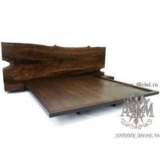 Кровать Лофт из массива дерева №7