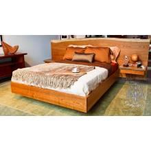 Кровать Live Edge из массива дерева №8