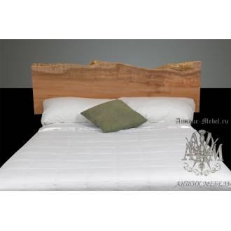 Кровать Live Edge из массива дерева №9