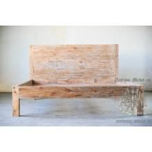 Кровать Лофт из массива дерева №10