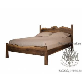 Кровать Eco из массива дерева №12