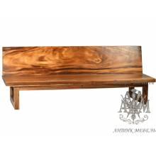 Скамейка Лофт из массива дерева
