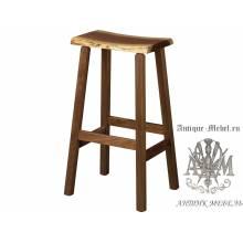 Барный стул Loft из массива дуба