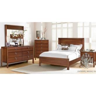 Спальный гарнитур Харпер из массива натурального дерева