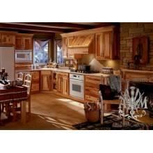 Кухонный гарнитур Кантрис из массива дерева