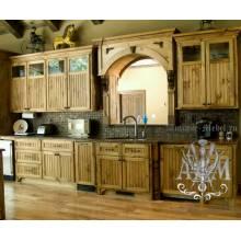 """Кухонный гарнитур """"Традиция"""" из массива натурального дерева"""