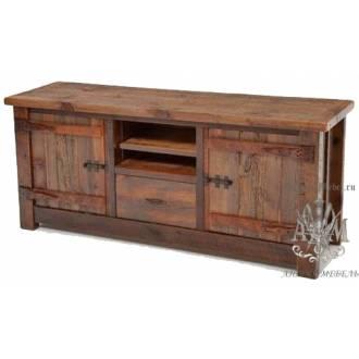 Комод деревянный состаренный из массива