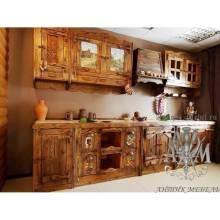 Состаренная кухня Иван да Марья