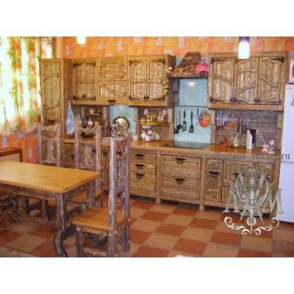 Кухня под старину Устюг