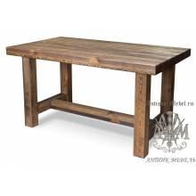 Стол для кафе 180x80 под старину №1