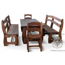 Стол 200x90 для кафе под старину №14