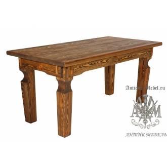 Стол из дерева под старину 160х80 Эверест