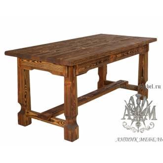 стол из дерева под старину 160х80 эверест 2