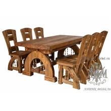 Стол из массива сосны 180х80 Изящный