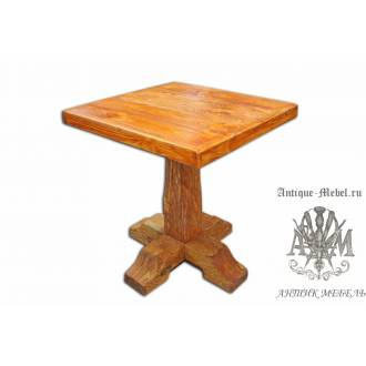 Стол из сосны Патрик 80х80, квадрат