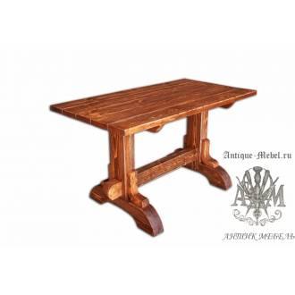 Стол состаренный из сосны Мартин 160х80