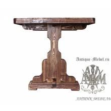 Стол состаренный из сосны Мишель 170х80