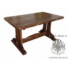 Стол состаренный из сосны Ланистер 150х70