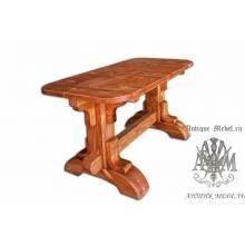 Стол из сосны Шервуд 140х70, овальный