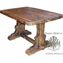 Стол состаренный из сосны Зевс 180х80