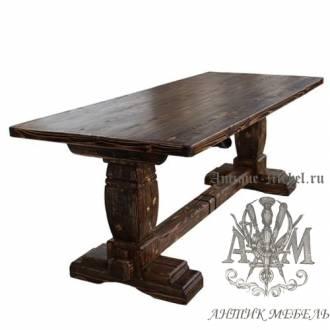Стол состаренный из сосны Кардинал 140х80