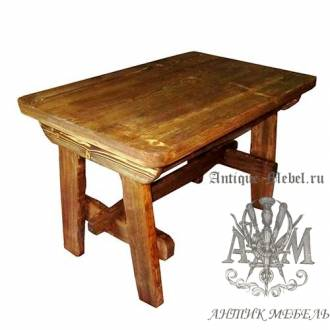 Стол состаренный из сосны Таверна 120х80