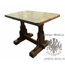 Стол состаренный из сосны Сильвер 120х70