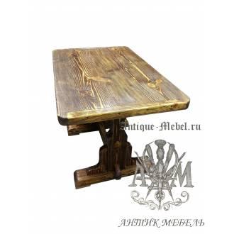 Стол состаренный из сосны Толедо 130х80
