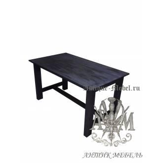 Стол состаренный из сосны для суши-бара 200х80