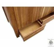 Шкаф для одежды Сиэтл 3PVV из массива дуба