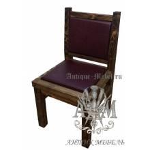 Деревянный стул из массива сосны Столовый