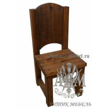 Деревянный стул из массива сосны Боярин
