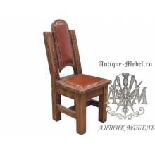 Деревянный стул из массива сосны Три Медведя