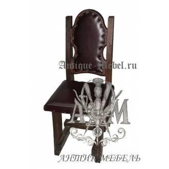 Деревянный стул из массива сосны Ночь