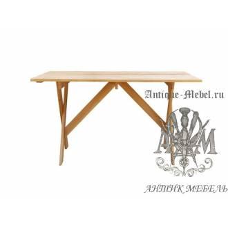 Стол садовый для дачи Малибу массив дуба