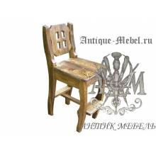 Барный стул из массива сосны Князь