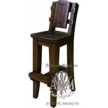 Барный стул из массива сосны Премьер