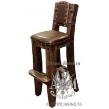 Барный стул из массива сосны Премьер мягкий