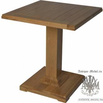 Барный стол 70х70 из массива дуба Саймон