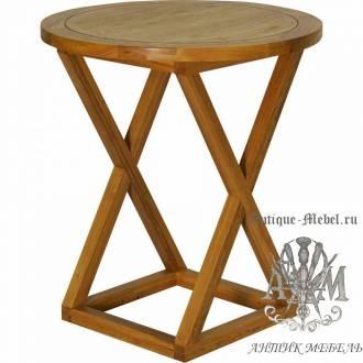 Барный стол 70х70 из массива дуба Марк