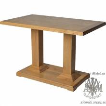Барный стол 120х70 из массива дуба Саймон-2