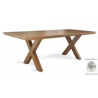 Обеденный стол из дуба Тор 200х90