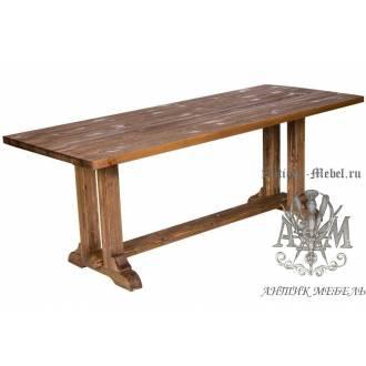 Стол обеденный 180х80 из массива сосны Прямой