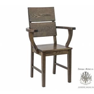 Кресло из массива дуба Лори