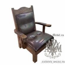 Кресло из дерева Рональд массив сосны