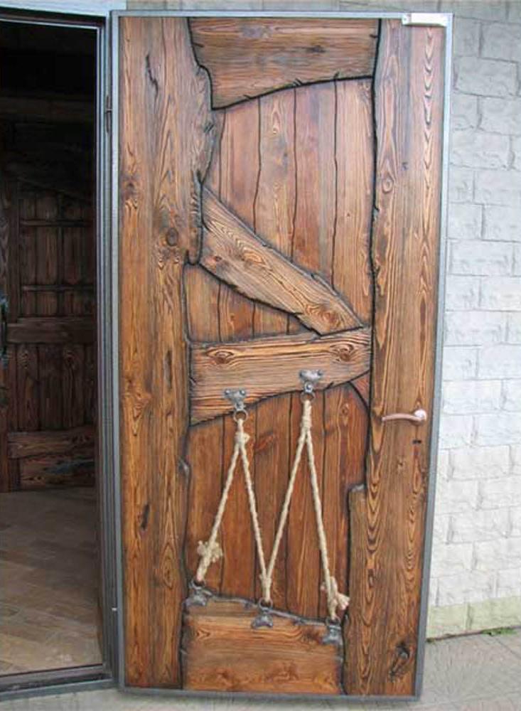 что теперь как реставрировать старую дубовую дверь крючком летних