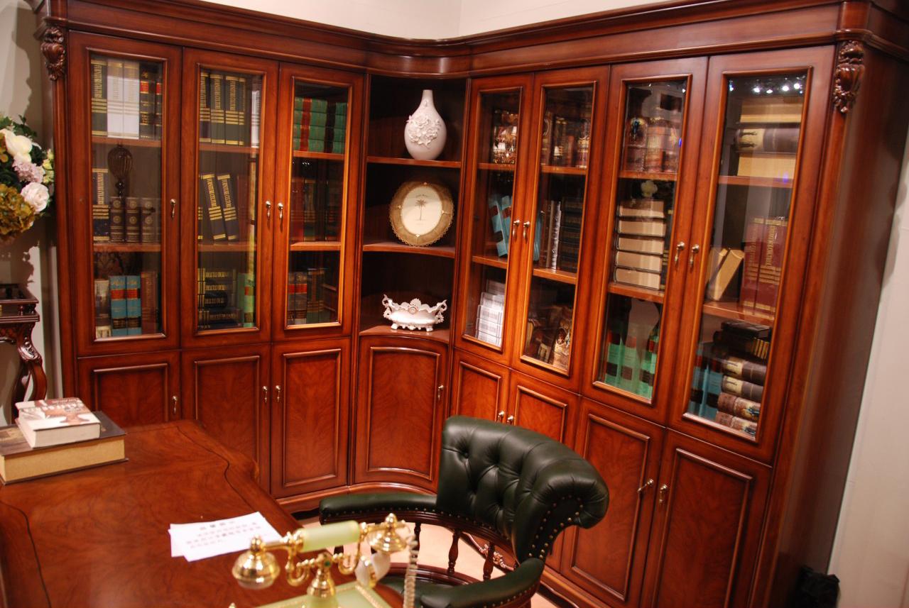 Книжные Шкафы В Гостиной В Москве